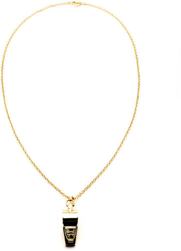 Ben Amun Whistle Necklace in Gold