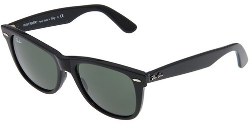 Ray-Ban - RB2140 Original Wayfarer 54 Large (Black/G-15xlt Lens) - Eyewear