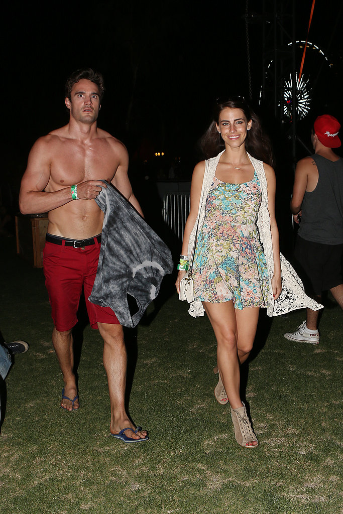 Thom Evans & Jessica Lowndes