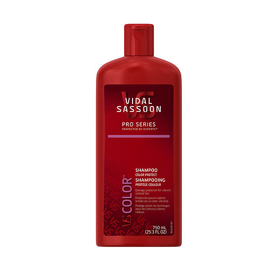 Vidal Sassoon Pro Series Shampoo Color Protect ($4, originally $5) protects colored hair from fading, but it also helps to give an added boost of shine.