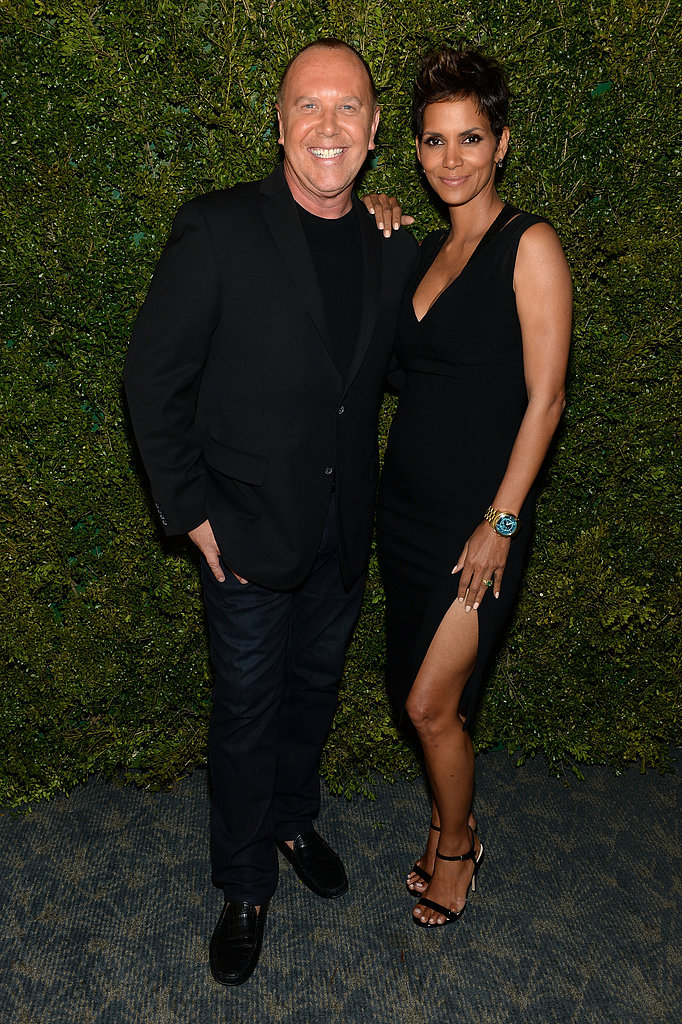 Halle Berry stepped out with Michael Kors.