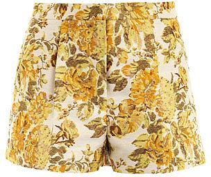 Stella McCartney Warwick floral jacquard shorts