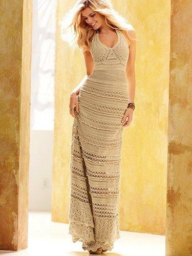 Crochet Maxi Dress