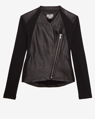 Helmut Leather Combo Jacket