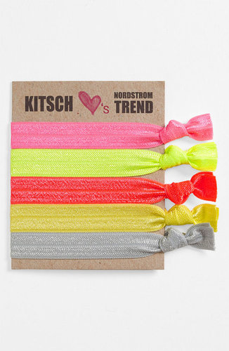 Kitsch 'Neopop' Hair Ties (5-Pack)
