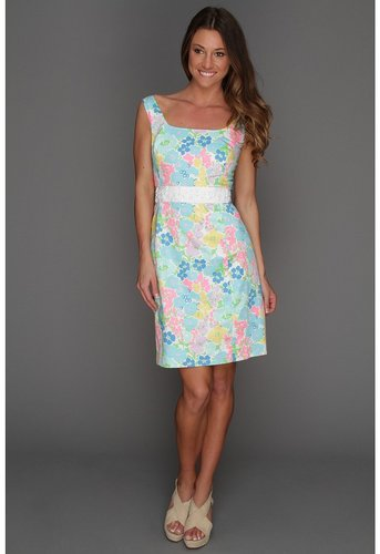 Lilly Pulitzer - Serena Dress (Resort White Spring Fling) - Apparel