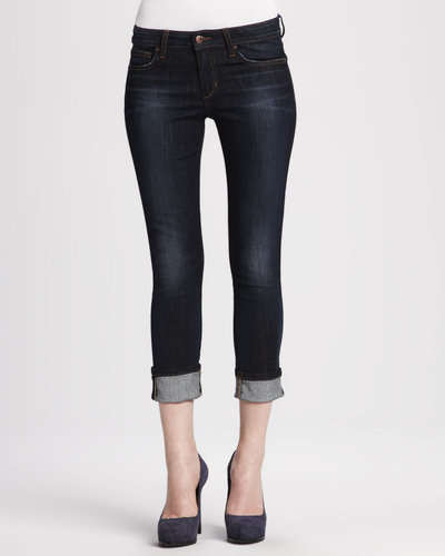 Joe's Jeans Bridget Clean Cuffed Cropped Jeans