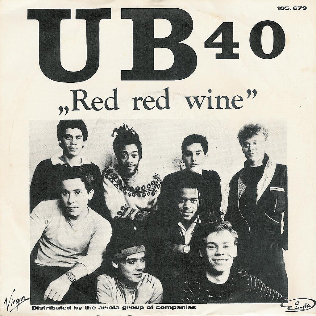 Red red wine by ub40 the ultimate 39 80s wedding for Songs from 1988 uk