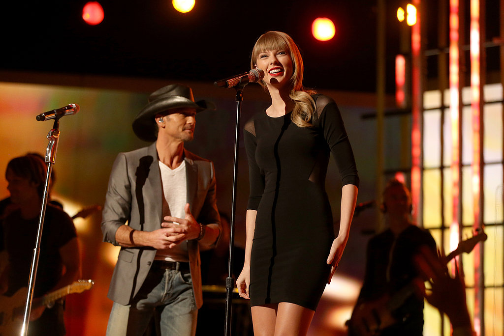 """Taylor Swift performed """"Highway Don't Care"""" with Tim McGraw."""