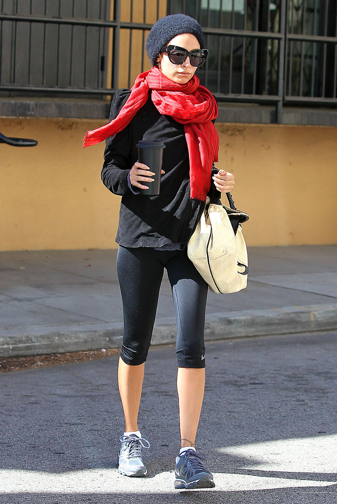 Nicole Richie worked out in LA on Tuesday.