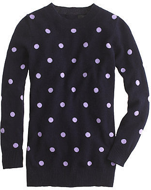 Collection cashmere polka-dot sweater