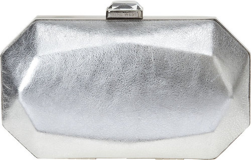 Le Club Metalic Clutch