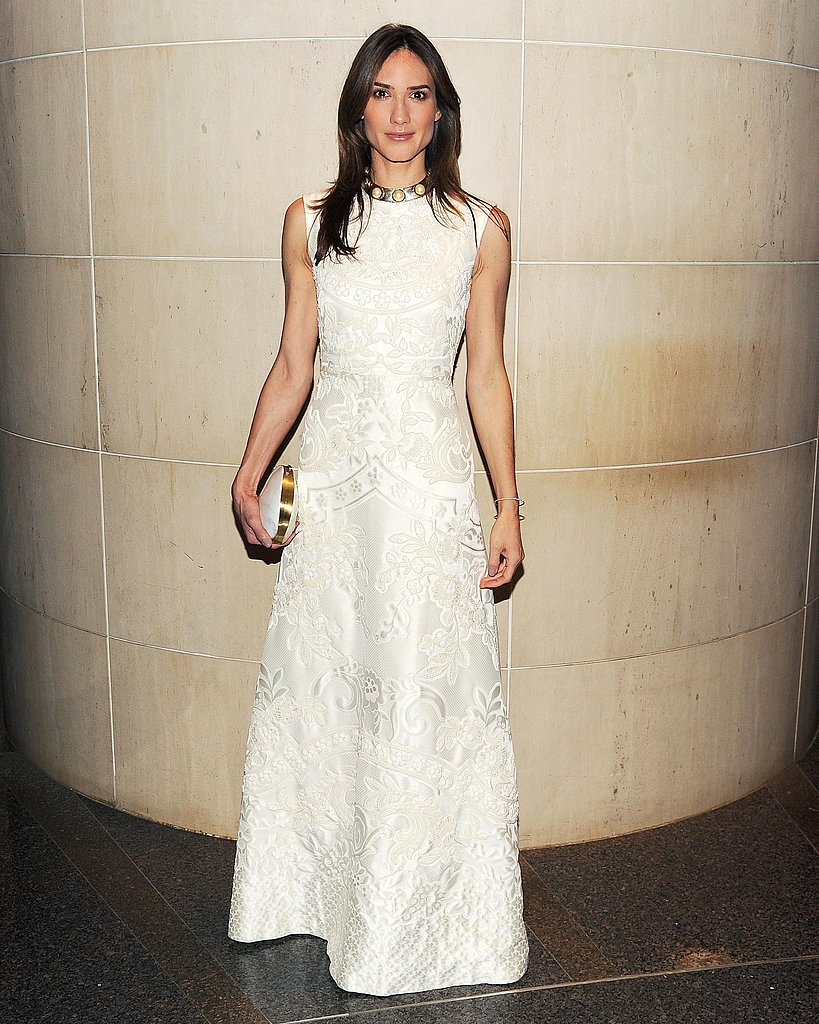 Zani Gugelmann wore Valentino at the New Yorkers For Children 10th Anniversary Spring Dinner Dance in New York. Photo: Billy Farrell/BFAnyc.com