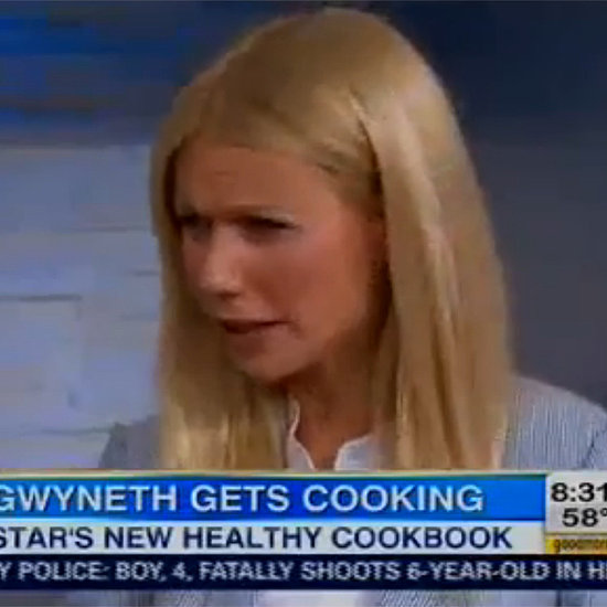 Gwyneth Paltrow on Good Morning America April 2013