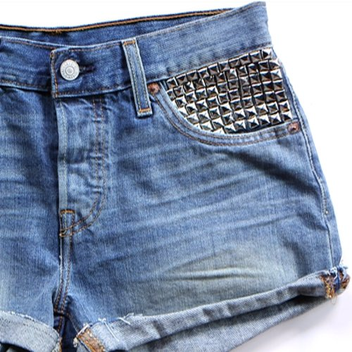 How to Add Studs to Jean Shorts | Video