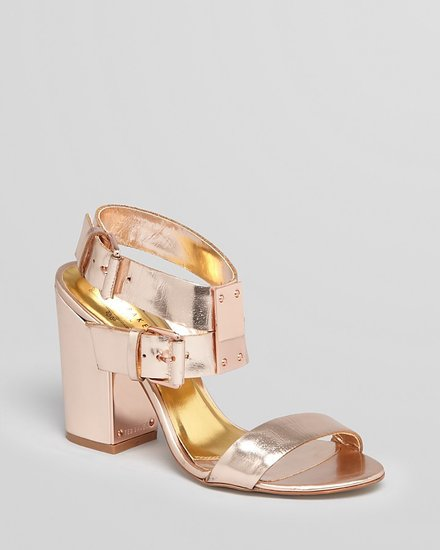 Ted Baker Sandals - Lissome Block High Heel