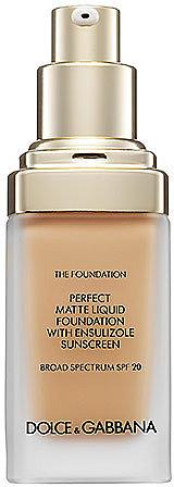 Dolce & Gabbana The Foundation Perfect Matte Liquid Foundation Broad Spectrum SPF 20