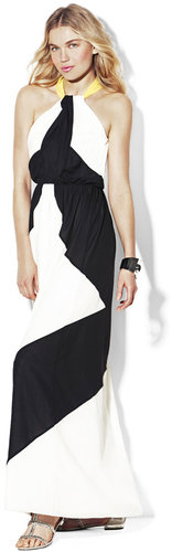 Twisted Neckline Maxi