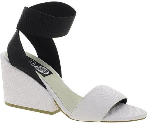 Cheap Cheap Monday Stomp White Heeled Sandals