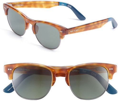 TOMS 'Modern' Retro 50mm Sunglasses