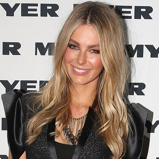 Jennifer Hawkins at Jayson Brunsdon