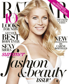 Gwyneth Paltrow Harper's Bazaar May 2013 Cover