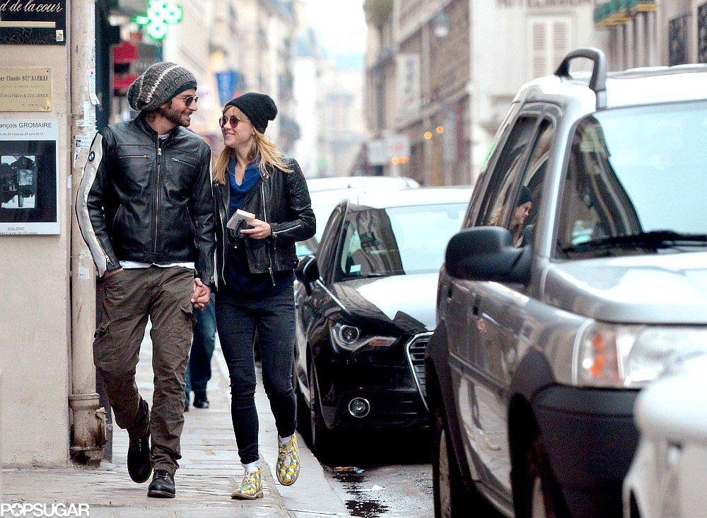 Bradley Cooper and Suki Waterhouse Show PDA in Paris