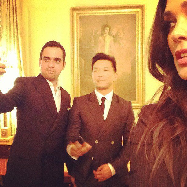Bibhu Mohapatra, Prabal Gurung, and Rachel Roy had a blast at the White House. Source: Instagram user rachel_roy
