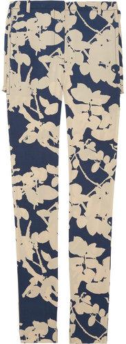3.1 Phillip Lim Quince floral-print silk-blend crepe pants