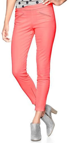 Super skinny twill pants