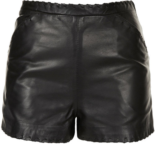Premium Leather Shorts