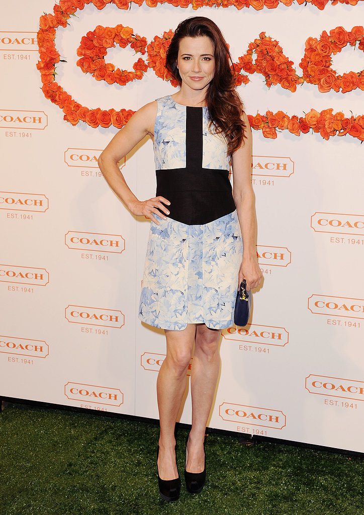 Linda Cardellini at Coach's third annual Evening of Cocktails and Shopping in Santa Monica.