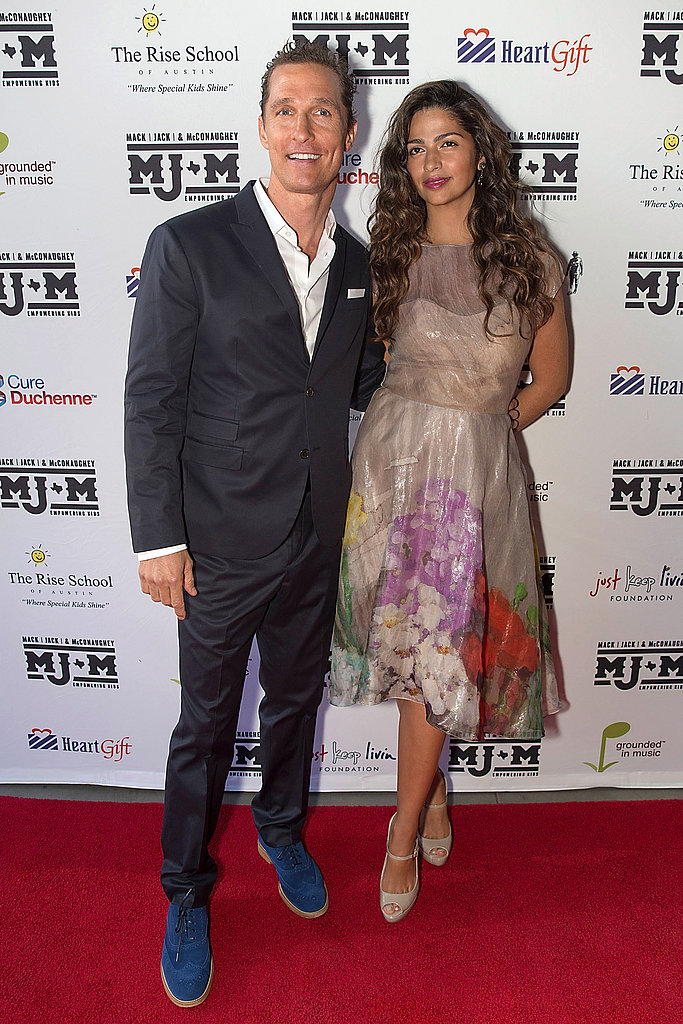 Matthew McConaughey and Camila Alves Bring Their Tans Out in Texas