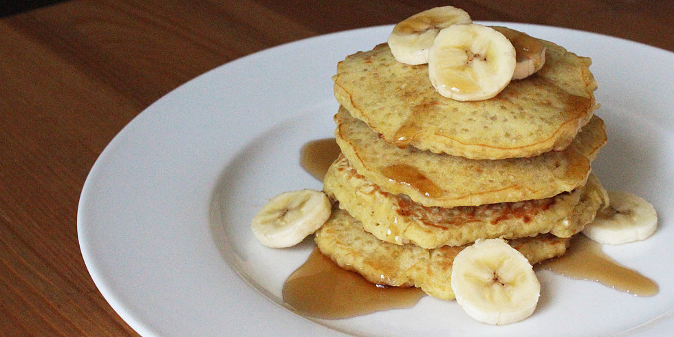 100-Calorie Quinoa Pancakes Packed With Protein