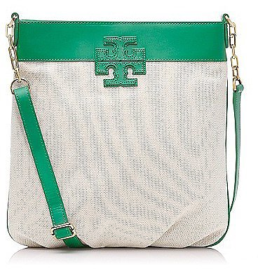 "Tory Burch Stacked ""t"" Bookbag"