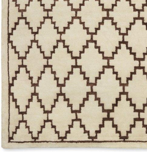 Graphic Diamond Rug