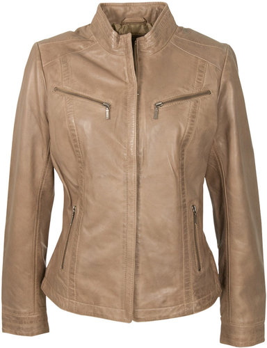 Yarra Trail Panel Leather Jacket