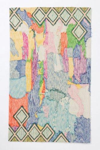 Crewel Abstraction Rug