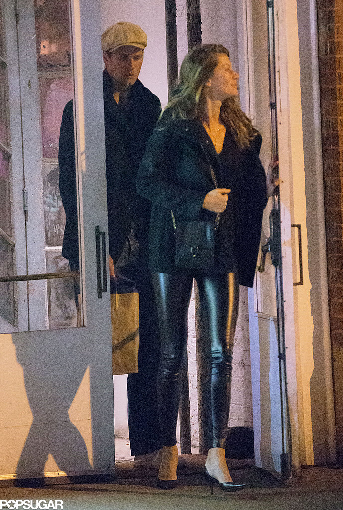 Tom Brady and Gisele Bündchen went to dinner in NYC.