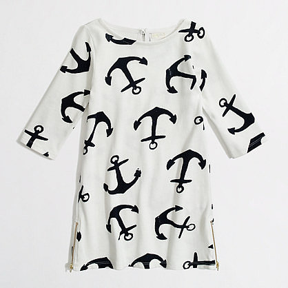 An anchor boatneck dress ($55) from J. Crew Factory will suit her through Spring in the classroom, and well into Summer vacation.