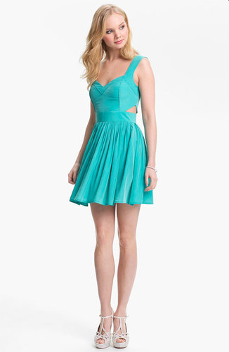 Keepsake the Label Side Cutout Fit & Flare Dress