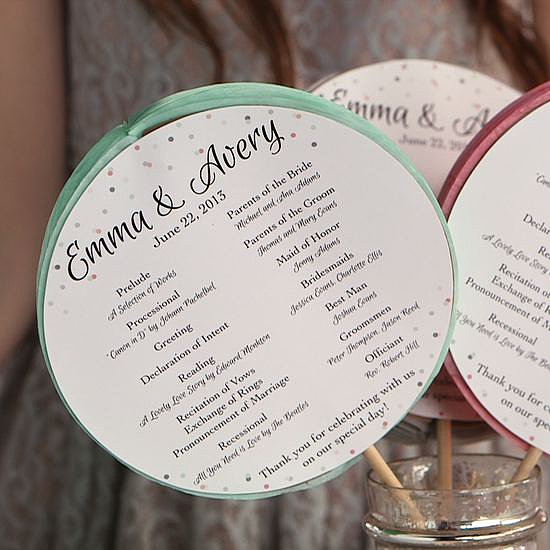 DIY Ceremony Programs Your Guests Will Love!