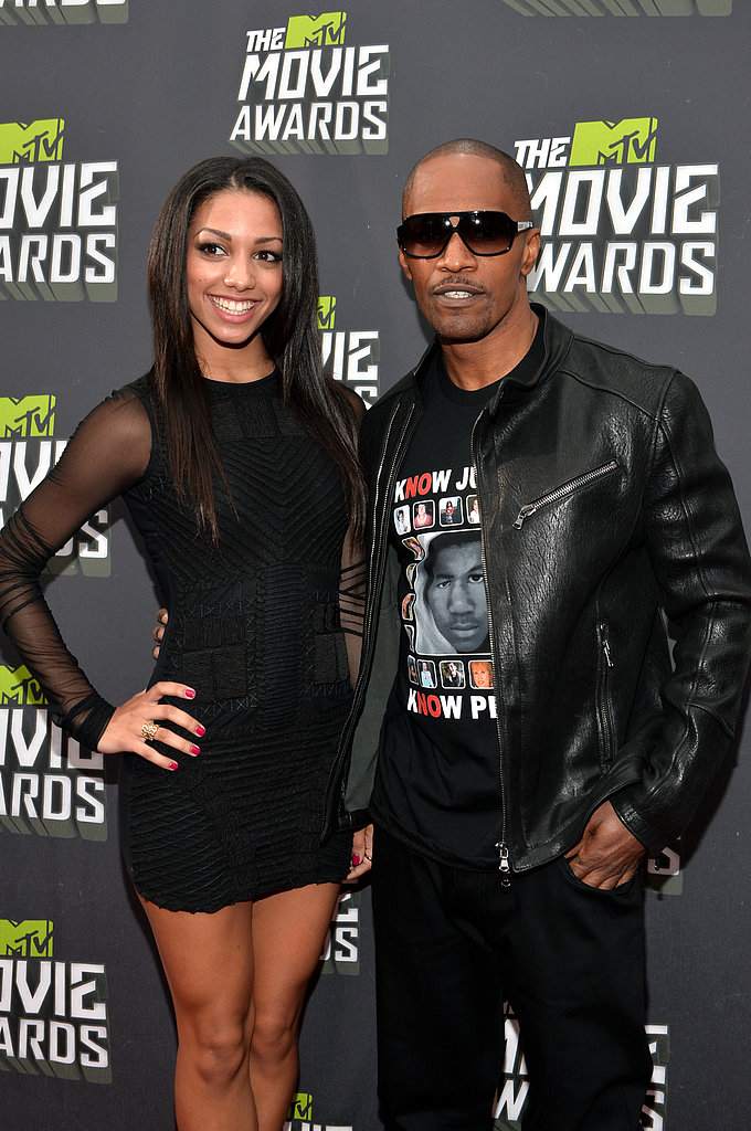 Corinne Bishop and Jamie Foxx