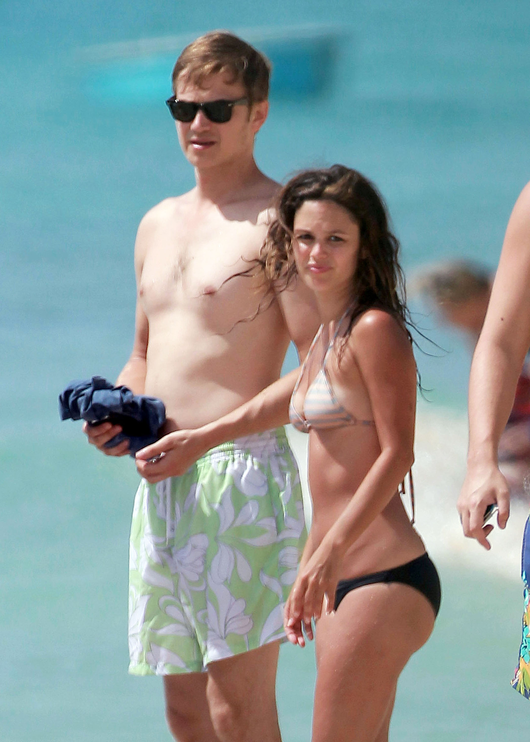 Rachel Bilson and Hayden Christensen soaked up the sun in Barbados.