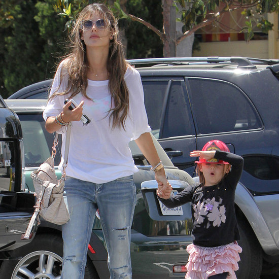 Alessandra Ambrosio and Anja Mazur Walking in LA | Pictures