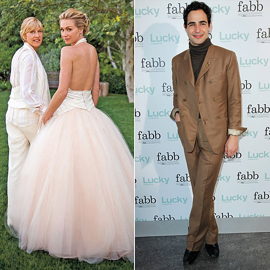 Portia De Rossi Wedding Gown: 12 Of The Best Celebrity Designer Wedding Dresses