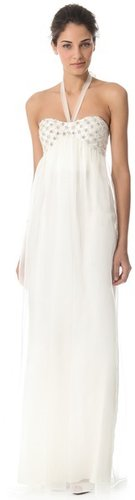 Temperley london Long Angeli Strapless Dress