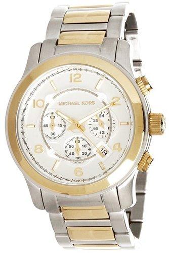 Michael Kors - MK8283 - Runway Chronograph (Gold /Silver) - Jewelry
