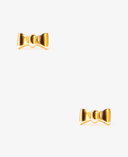 FOREVER 21 Etched Bow Studs