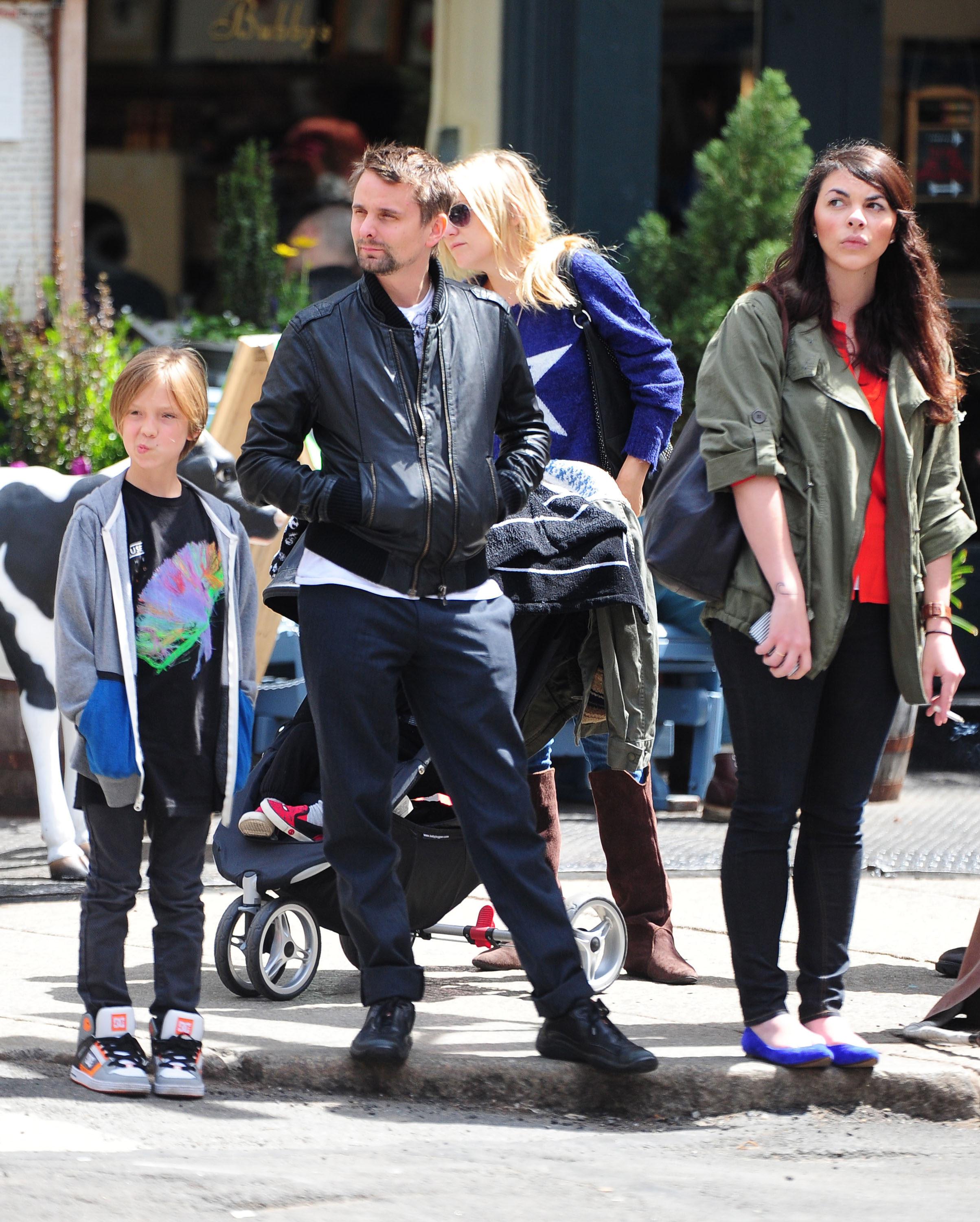 Kate Hudson Hangs With Her Boys on a Sunny Big Apple Outing